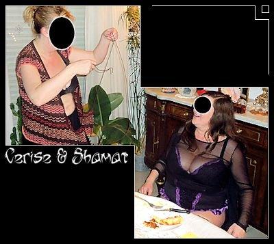 Cerise & Me Roseau – Trophée dans Bustier noir enk68_cr23