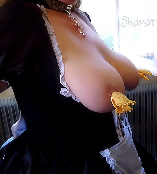 Soubrette - Pinces dans Exhib en webcam es130614so48