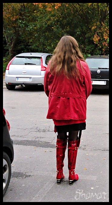 Tenue pour sortir à Noz dans Chaussures-Bottes es131025nz01